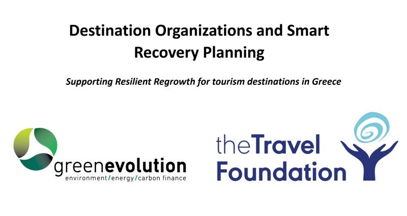 1st GE / TF Destination Organizations and Smart Recovery Planning Training - 3, 4, 19 of March 2021