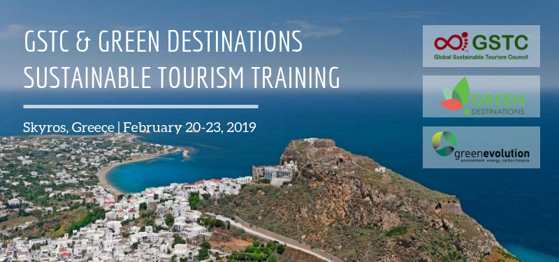 1st Sustainable Destinations Training, GSTC & GD, Feb 20-23, 2019, Skyros