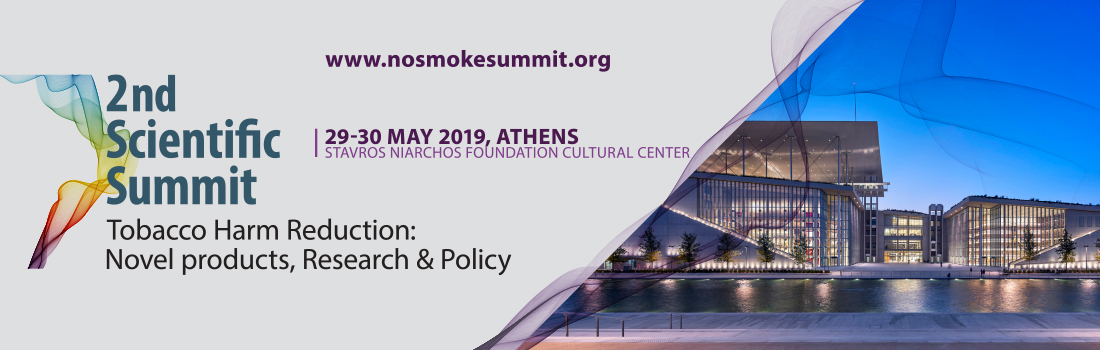 "2nd Scientific Summit ""Tobacco Harm Reduction: Novel products, Research & Policy"""
