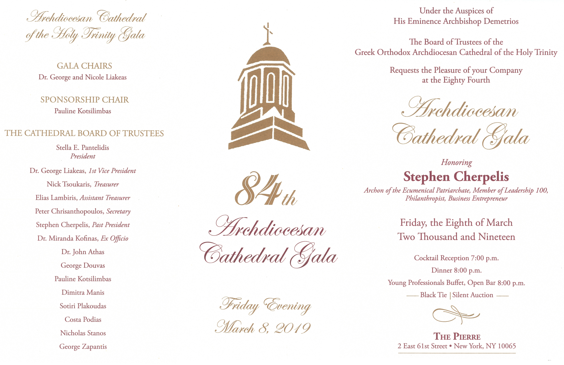 84th Archdiocesan Cathedral Gala