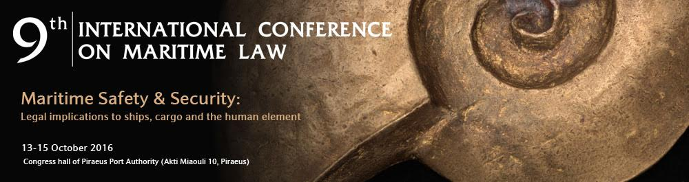 9th International Conference on Maritime Law