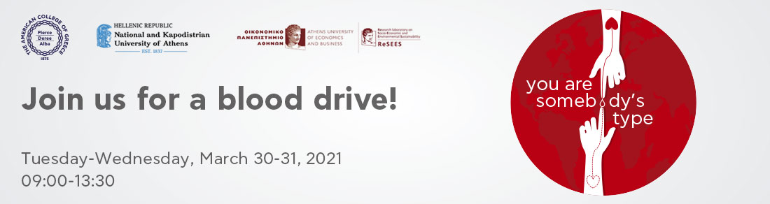 Blood Drive - Spring 2021