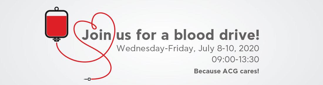ACG – AMCHAM Blood Drive | Summer 2020