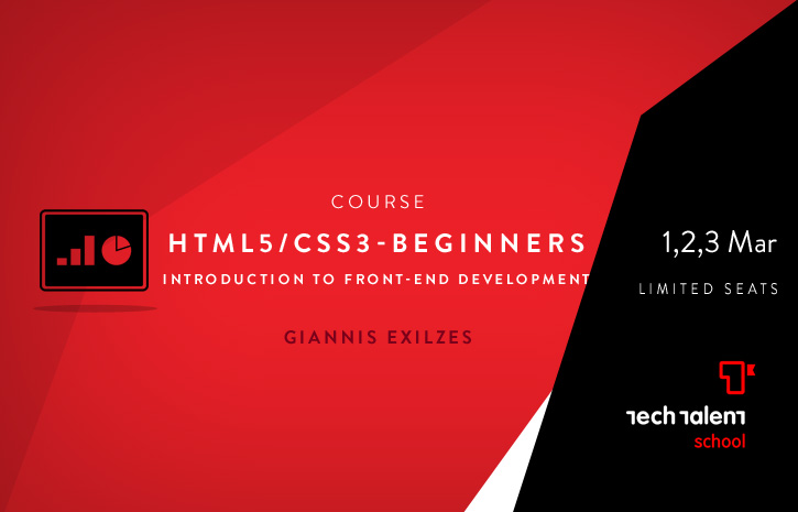 HTML5/CSS3 for Beginners. An Introduction to Front-end web development (9hours)
