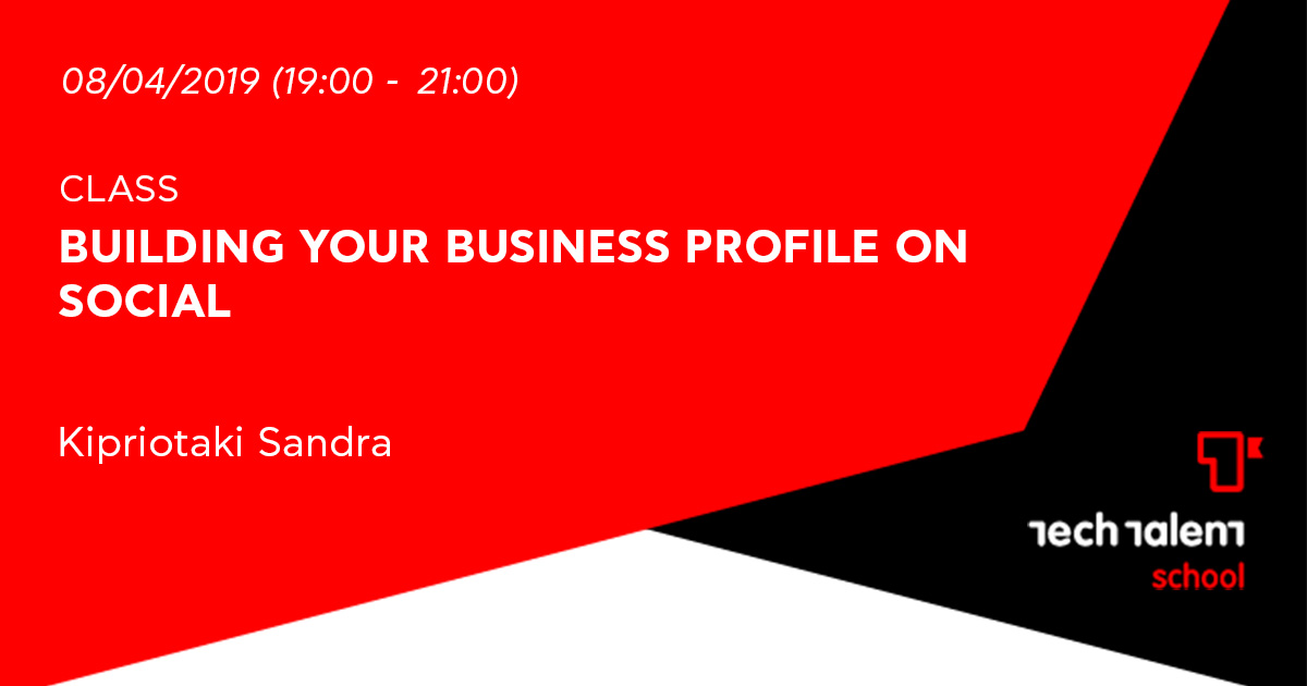 Building your business profile on social (Irakleio)