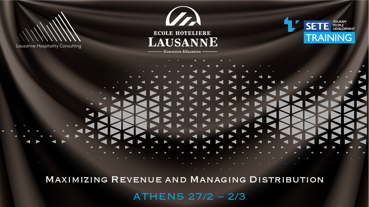 Maximizing Revenue and Managing Distribution - Athens