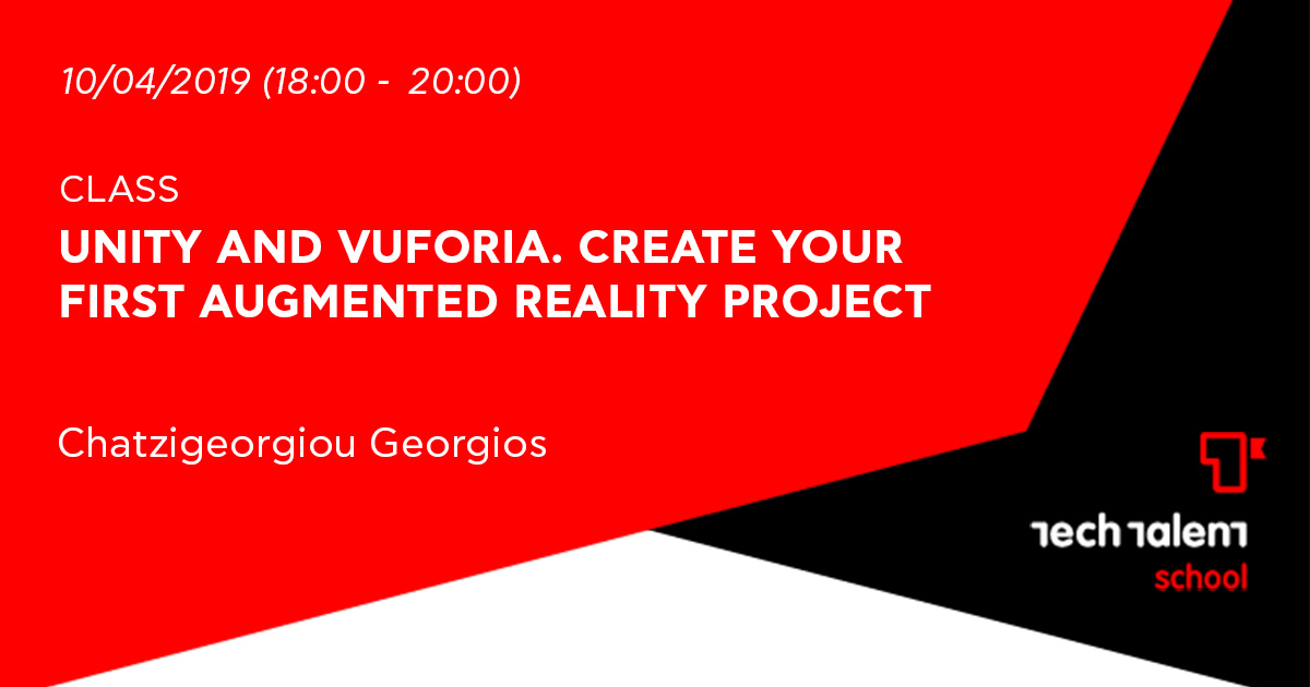 Unity and Vuforia. Create your first Augmented Reality project (Veria)