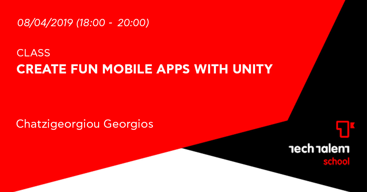 Create fun mobile apps with unity (Veria)