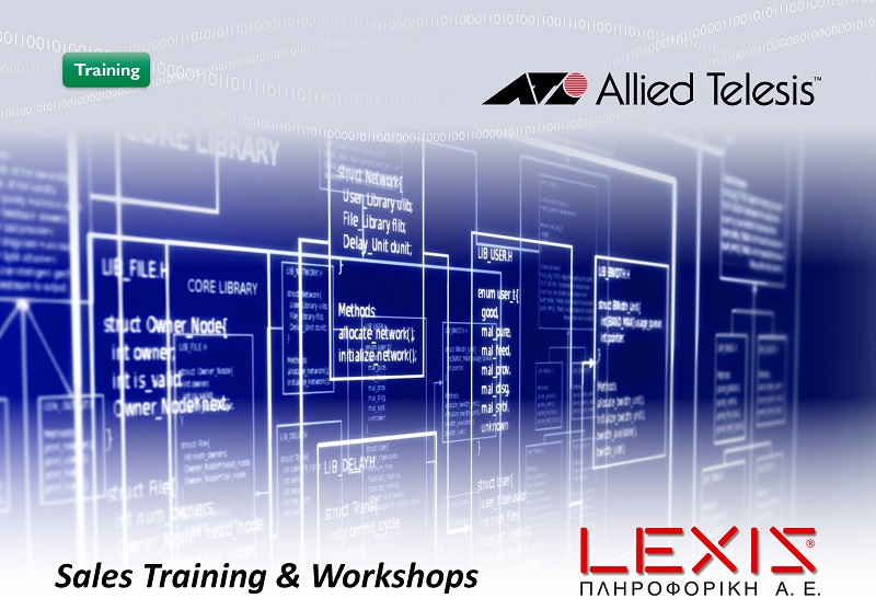 Allied Telesis Sales Training and workshops