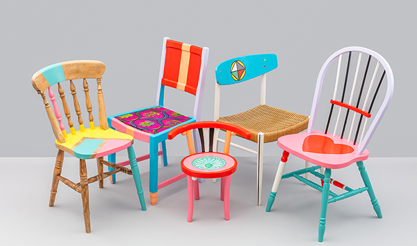 Workshop by Yinka Ilori: The Art of Storytelling through Chairs