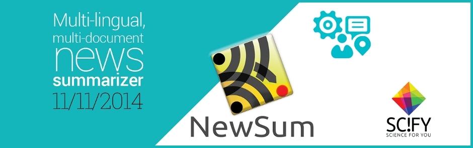 Αυτόματες περιλήψεις ειδήσεων - NewSum: Ανατροπή στην ενημέρωση;