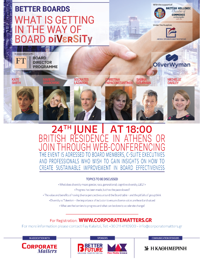 Better Boards - What is getting in the way of Board diversity
