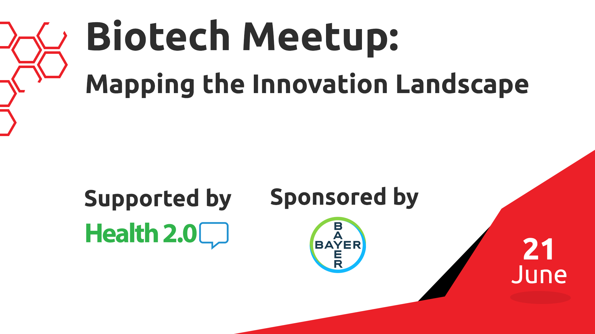 Biotech Meetup: Mapping the innovation landscape