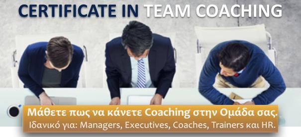 Certificate in Team Coaching
