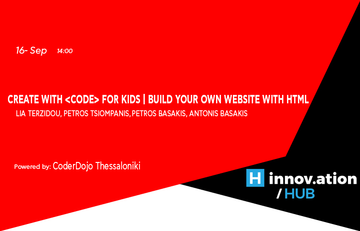 Create with < CODE > for Kids | Build your own website with HTML (TIF)
