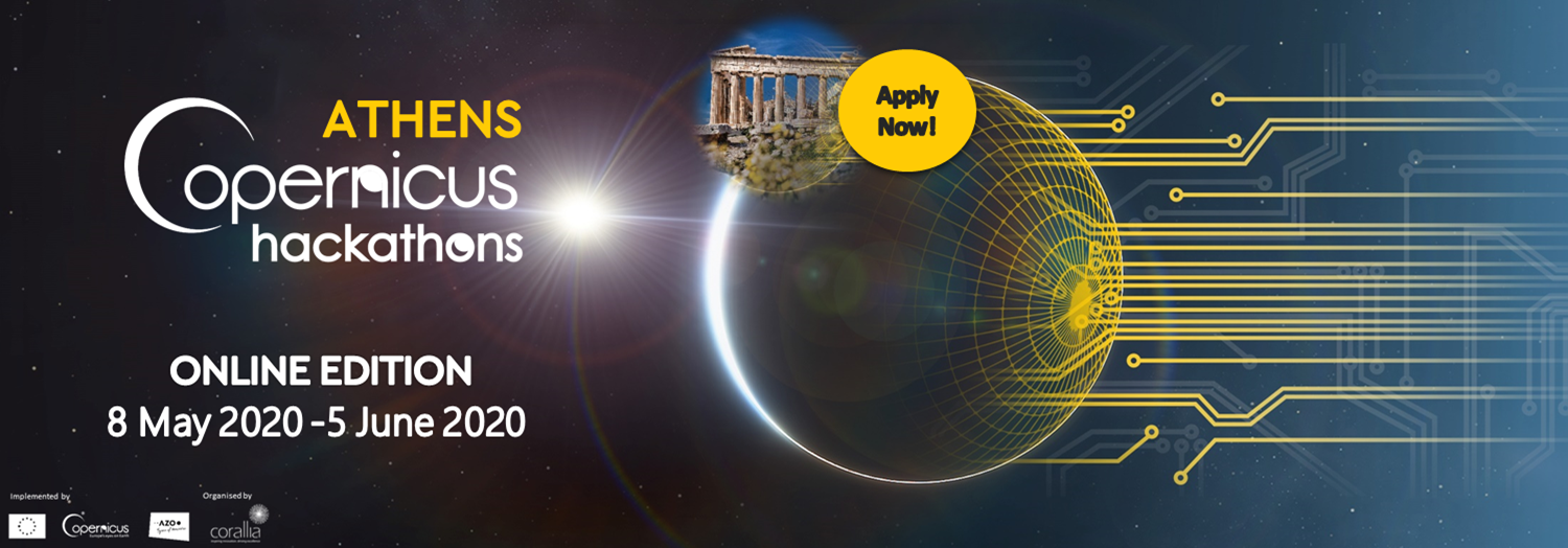 Copernicus Hackathon in Athens 2020 - Online Edition