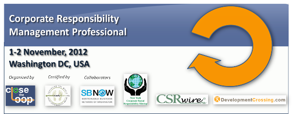 Corporate Responsibility Management Professional Certification Training
