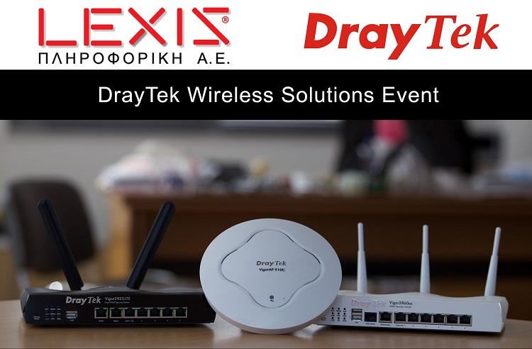 DrayTek Wireless Solutions Event