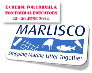 E-course for the MARLISCO educational material on marine litter to formal & non-formal educators