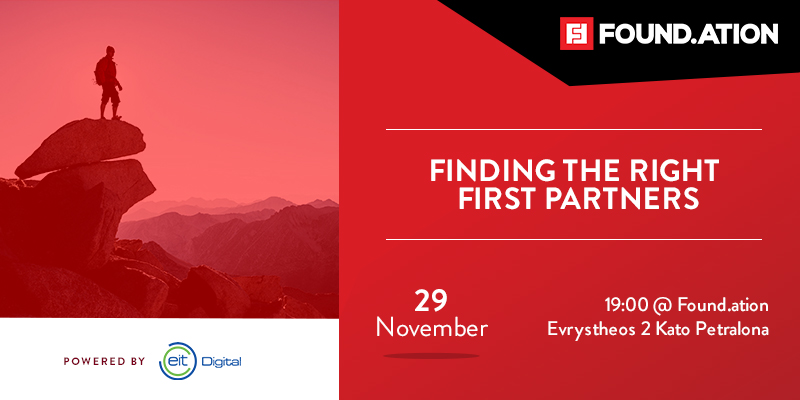 Finding the right first partners - powered by EIT Digital