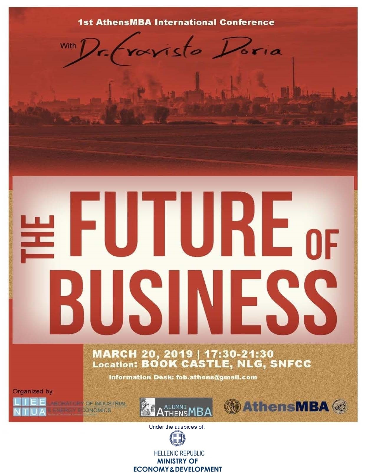 The future of business| 1st AthensMBA International Conference