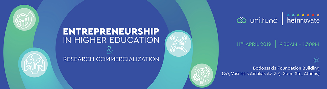 Entrepreneurship in Higher Education and Research Commercialization