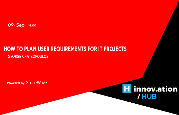 How to plan User Requirements for IT projects (TIF)