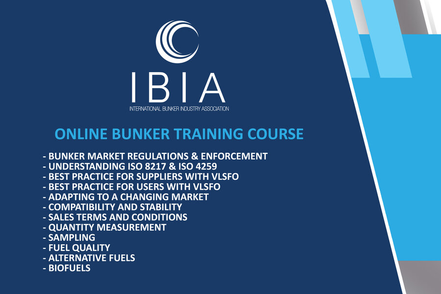 Online IBIA Bunker Training Course