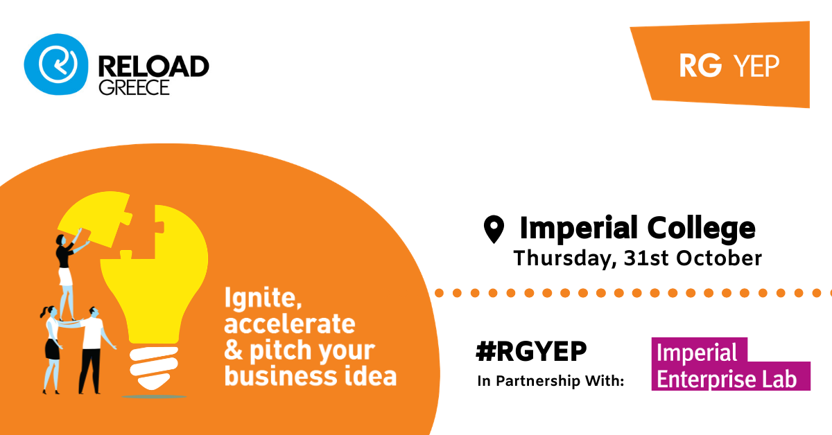 IGNITE @Reload: DEVELOPING YOUR IDEA - Imperial College London