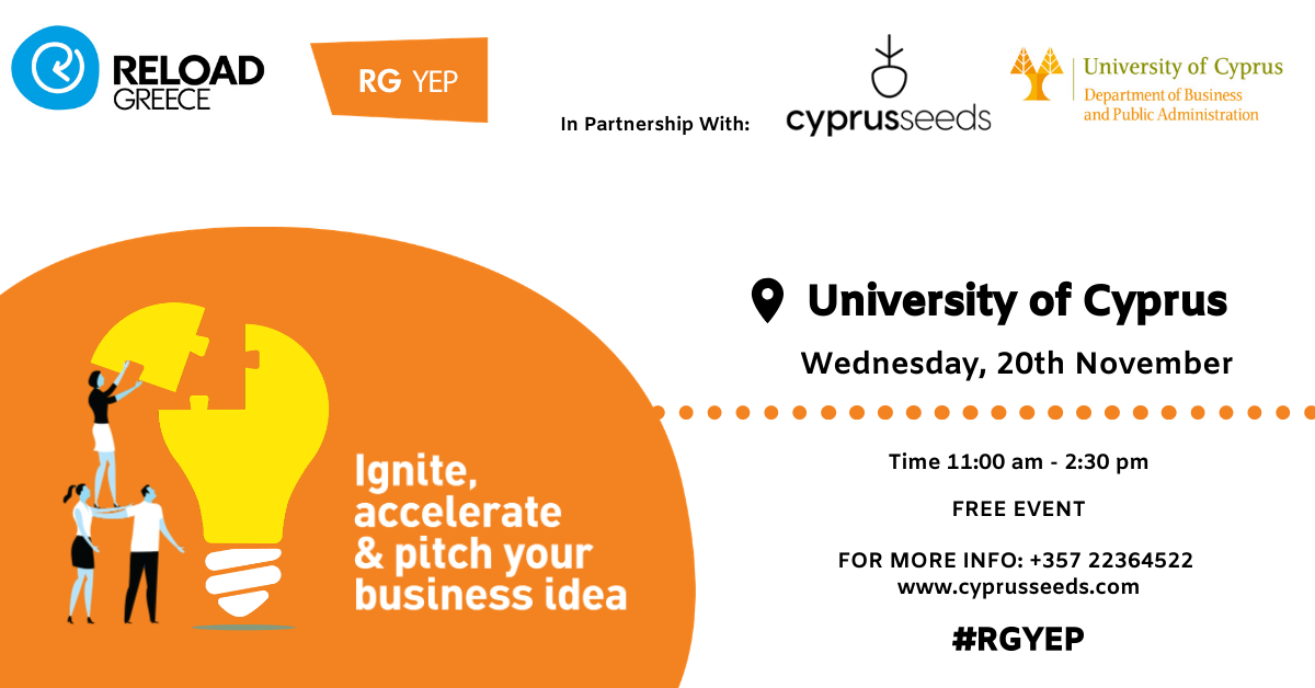 IGNITE @Reload: DEVELOPING YOUR IDEA - Cyprus