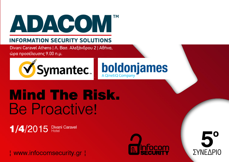 ADACOM Security Workshops @ Infocom Security 2015 - 1st April 2015