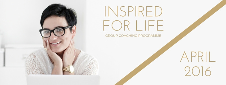 Inspired for Life | Online Tuesday April 26th