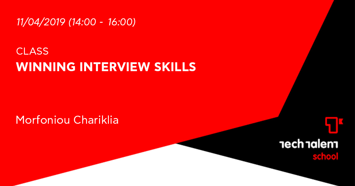 Winning interview skills