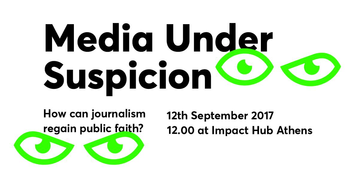 Media Under Suspicion | How can journalism regain public faith?
