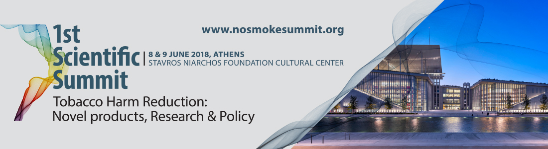 "1st Scientific Summit ""Tobacco Harm Reduction: Novel products, Research & Policy"""