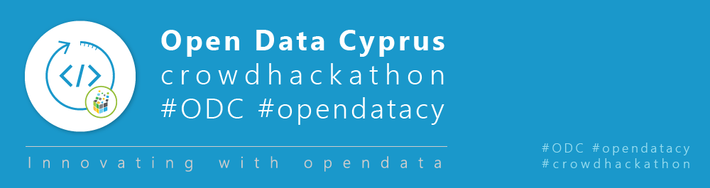 Open Data Cyprus crowdhackathon #ODC #opendatacy