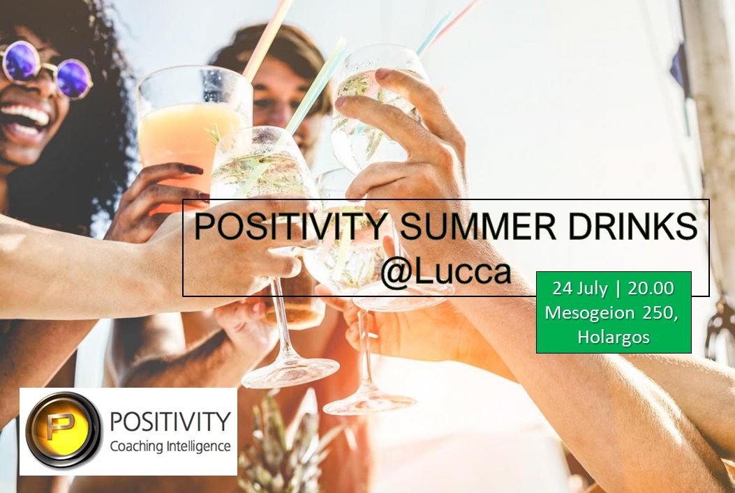 Positivity Summer Drinks at Lucca🍹🍹🍹 Be there Positivian!