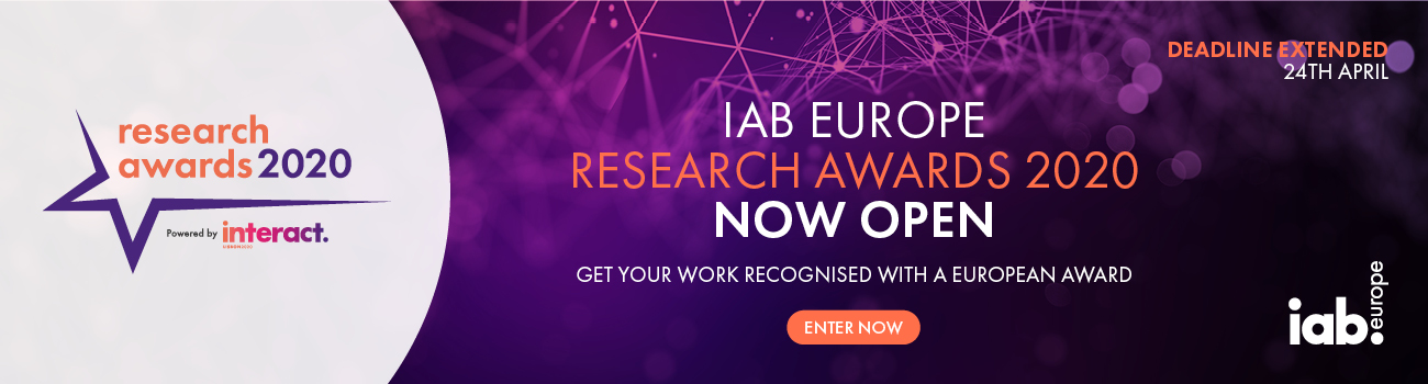 Research Awards Europe 2020 - Digital Researcher  of the Year