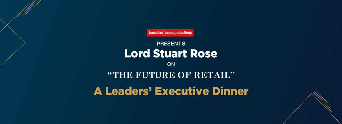 A Leaders' Executive Dinner