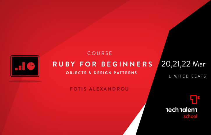 Ruby 101, An Introduction to object oriented principles & design patterns