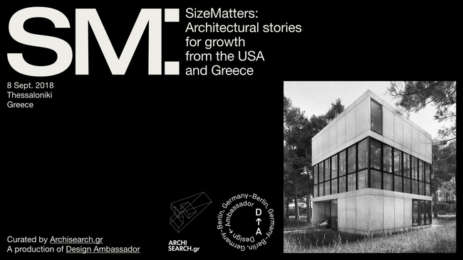 SIZE MATTERS: Architectural Stories for Growth from the USA & Greece