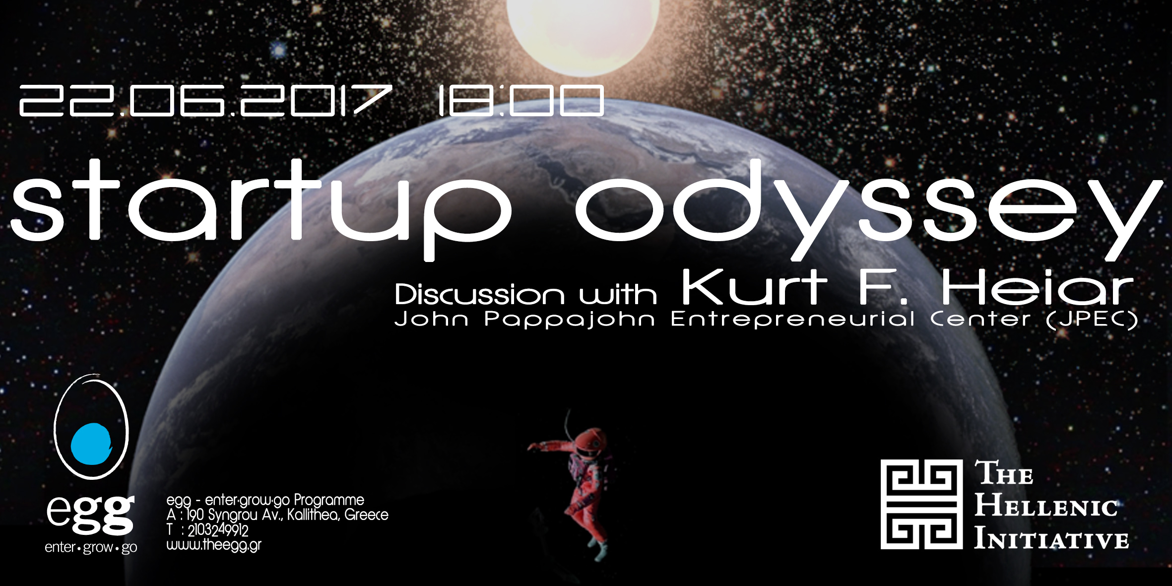 Startup Odyssey, discussion with Kurt F. Heiar