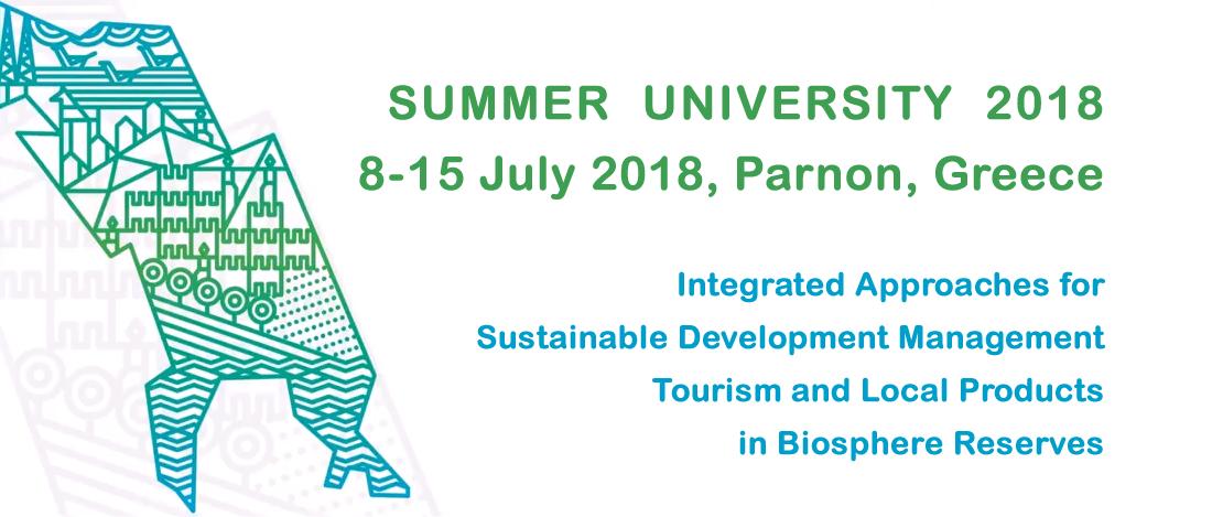Summer School in Parnon, Greece 2018