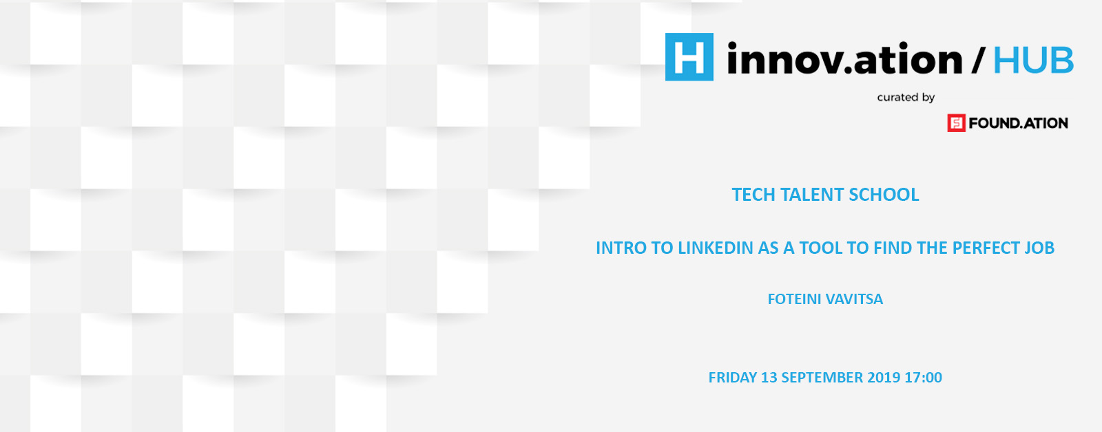 Intro to LinkedIn as a tool to find the perfect job (TIF19)