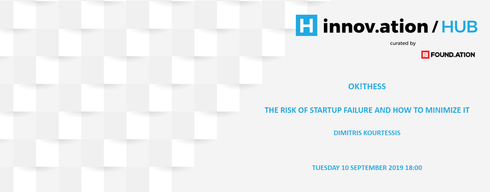 The risk of startup failure and how to minimize it (TIF19)