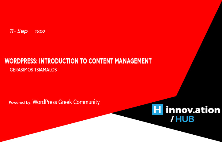WordPress:  Introduction to Content Management (TIF)