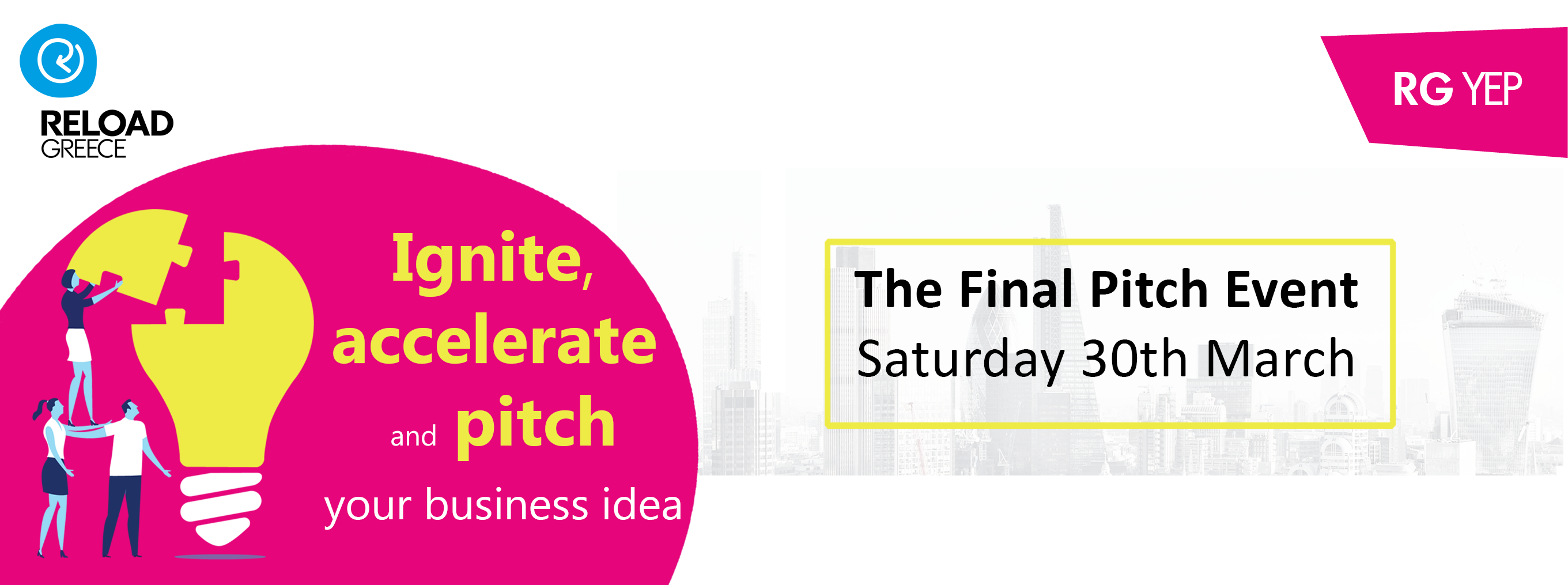 Young Entrepreneurs Programme 18-19: The Final Pitch Event